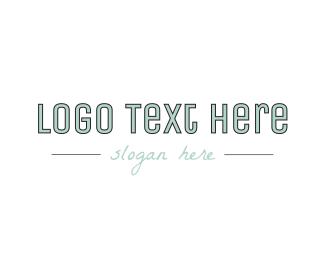 Company - Modern Company Text logo design