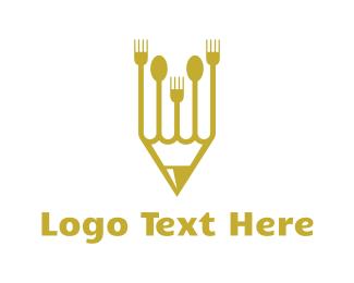 Writer - Chef & Writer logo design