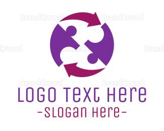Human - Human Cycle logo design