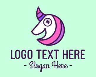 Fairy Tale - Little Unicorn Fairy Tale logo design