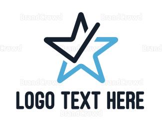 Approval - Star Check logo design