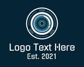Camera - Camera Shutter Lens logo design