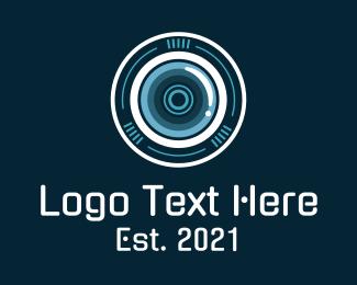 Camera Repair - Camera Shutter Lens logo design