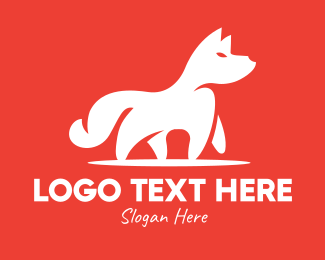 Wild - Wild White Fox logo design