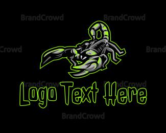 Poisonous - Poison Scorpion Gaming logo design