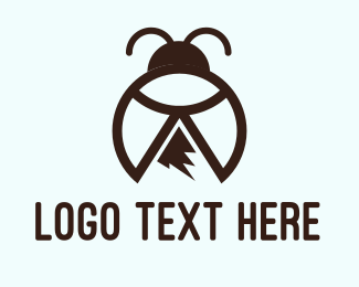 Peak - Peak Bug logo design