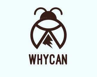 Bug Peak Bug logo design