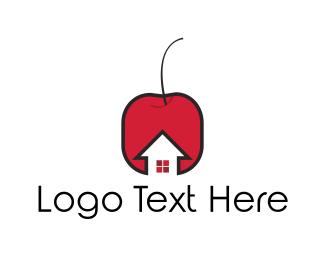Cherry - Cherry House logo design