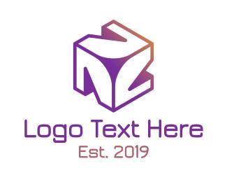 Program - Modern N Trio logo design