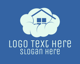 Green Cloud - Home Cloud logo design