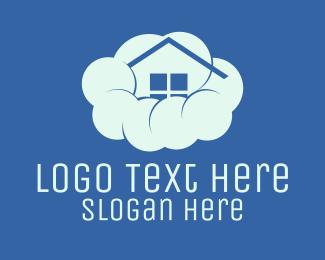 Dream - Home Cloud logo design