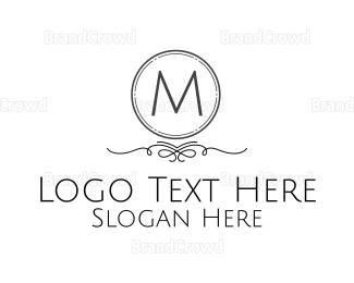 Condominium - Monochromatic Classical Lettermark logo design