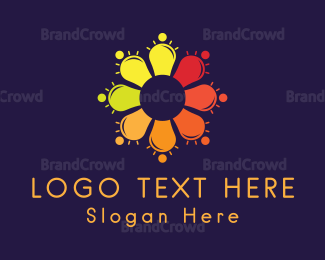 Bulb - Smart Crowd logo design