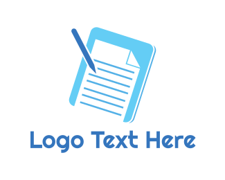 Smart Phone - Essay Pad logo design