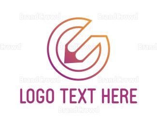 Color Pencil - Pencil Circle logo design