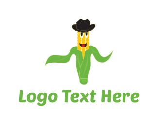 Cowboy - Mister Corn logo design