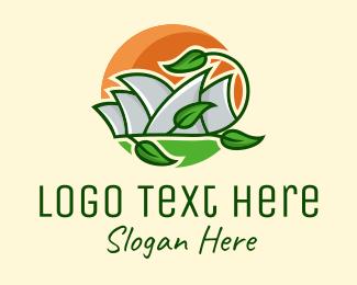 Traveller - Sydney Eco Park  logo design