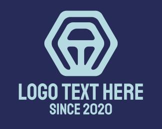 Biotech - Abstract Business Startup Hexagon logo design