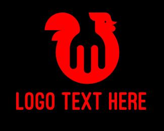 Bbq - Chicken Diner Restaurant  logo design
