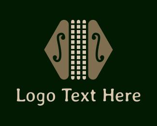 Orchestra - Colorful Classic Accordion logo design