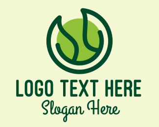 Spa - Green Nature Spa logo design