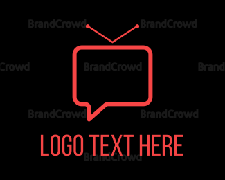 Communicate - Vlog Chat logo design