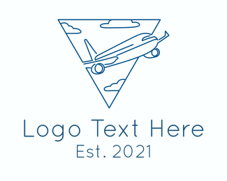 Flight - Airplane Flight logo design
