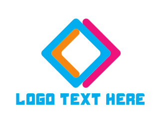 Diamond - Colorful Diamond logo design