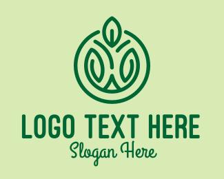 Agriculture - Green Agricultural Emblem logo design