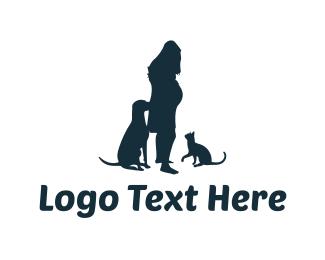 Silhouette - Pregnancy Silhouette logo design