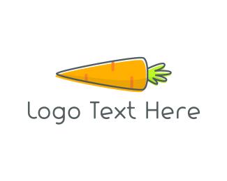 Vegetable - Baby Carrot logo design