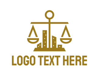 Law Firm - Gold City Law Firm logo design