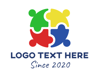 Child Care - Global Child Welfare Organization logo design