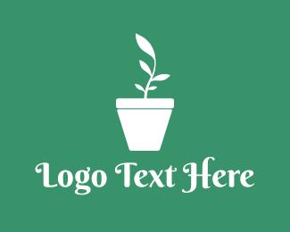 Vase - Plant Vase logo design