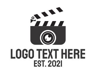 Presentation - Clapperboard Media logo design