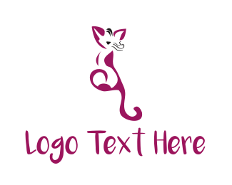 Tail - Cat Tail logo design