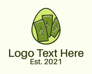 Income - Money Egg logo design