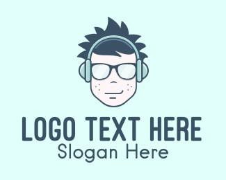 Listen - Teenage Music Streaming logo design