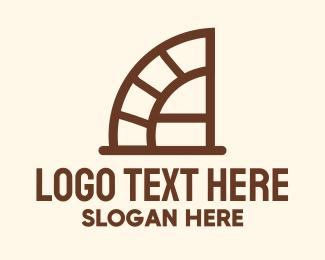 Ladder - Ladder Letter A logo design