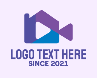 Player - Home Video Player logo design