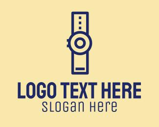Simple - Simple Wristwatch logo design