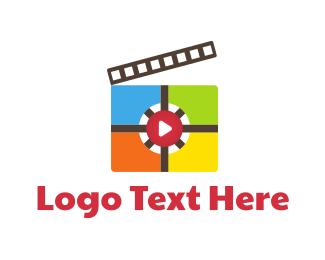 Cinema - Media Studio logo design