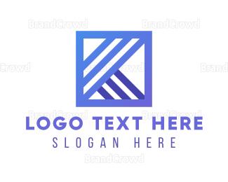 Letter K -  Letter K Company logo design