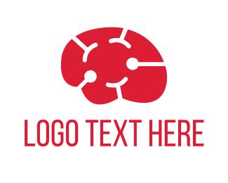 Psychologist - Brain Smile logo design