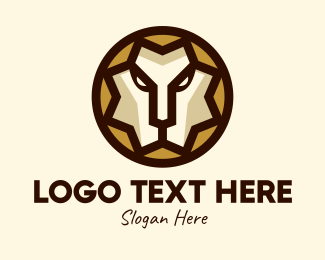 Crest - Luxury Lion Crest  logo design