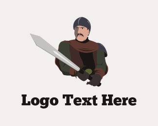 Armor - Medieval Warrior logo design