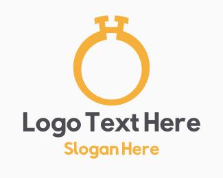 Wedding Photography - Golden Ring logo design
