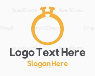Ring - Golden Ring logo design