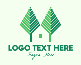 Home - Green Forest Home logo design