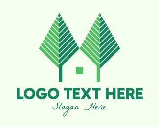 Forest - Green Forest Home logo design